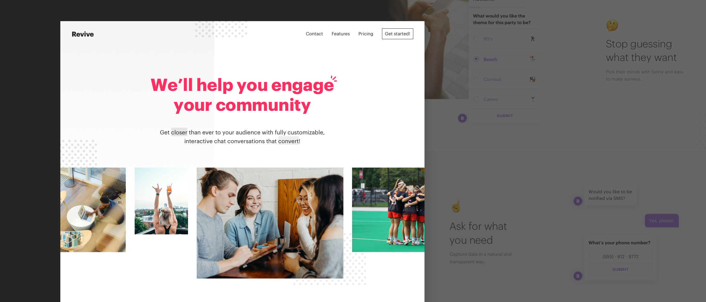 A Chatbot For Better Community Engagement